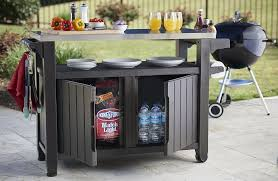 outdoor grill prep table best outdoor bbq table for all your grill prep station needs