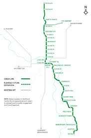 Calgary Map Public Engagement Green Line Lrt
