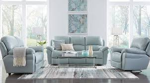 livorno aqua leather sofa leather living room sets furniture suites