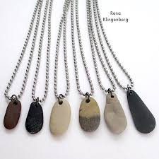 necklace with stone images Make beach stone necklaces gift idea for guys and gals jewelry jpg