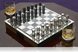 Chess Board Design Metal Chess Set Mid Century And Cool Chess Sets Pinterest