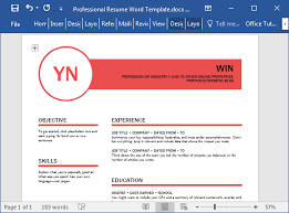 professional resume word template polished resume template for word