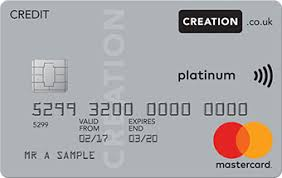 Sle Of Credit Card Statement by Creation Everyday Credit Card Microsite