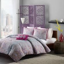 Purple U0026 Pink Teen Bedding by Twin Twin Xl Girls Teen Purple Pink Blue Gray Paisley Comforter