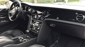 bentley mulsanne black interior 2011 bentley mulsanne sedan s54 1 los angeles 2017