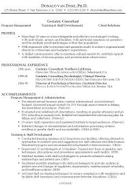 objective for a resume examples resume sample geriatric consultant susan ireland resumes