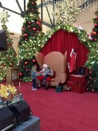 Pipe And Drape Hooks Greenscape Design Brentwood Mall Santa Set Christmas