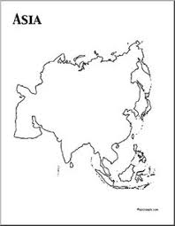 asia map coloring page download cut out continents coloring page