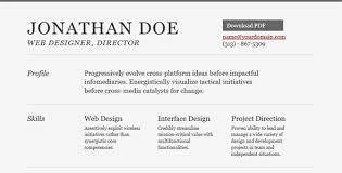 Best Resume Site by Awesome Online Resume Cv How To Write A Resume In Html Format