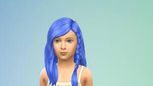 sims 4 blue hair genetic unnatural hair colours for kids game packs sims