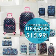 Free Shipping Pottery Barn Pottery Barn Kids Backpacks And Luggage Sale Extra 20 Off