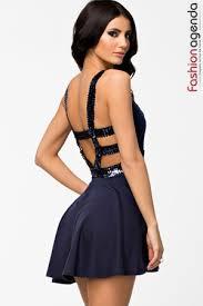 rochii de club rochie clos bleumarin romina la 119 fashionagenda