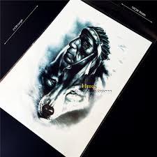 wolf indian tattoos designs indian tattoo designs promotion shop for promotional indian tattoo
