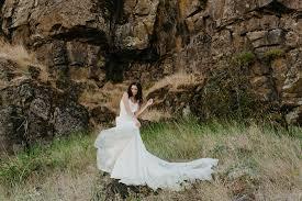 wedding dresses portland portland bridal elizabeth dye lookbook