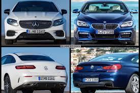 mercedes e class coupe photo comparison bmw 6 series vs mercedes e class coupe
