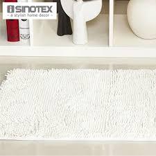 Kilim Bath Mat White Floor Mat Home Floor Carpet Soft Shaggy Water Proof