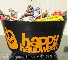 halloween buckets my repurposed life