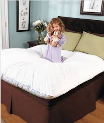 pillow bed topper mattress pad bed topper microfiber fill queen king full twin xl