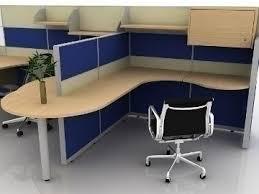 Model Building Desk Office Cubicle Design 3d Model Chair Max Ar Vr