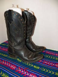 ebay womens cowboy boots size 9 vintage blondo lined leather insulated cowboy boots womens
