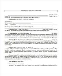 purchase contract template 9 free word pdf documents