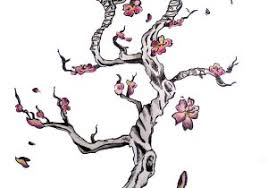 cherry blossom branch designs tree branch blossom