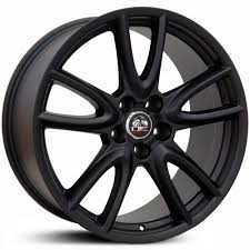 Matte Black Ford Mustang Fits Ford Mustang Fr18 Factory Oe Replica Wheels U0026 Rims