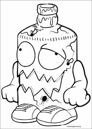 trash pack coloring 015 coloringbook org