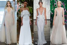 Wedding Dress Trend 2018 Wedding Dresses 2018 Trends The Stylish Gowns You Need To See
