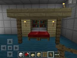 fancy bookshelf queen bed minecraft furniture