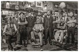 a barber shop in netherlands called