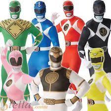 mens power ranger costume ebay