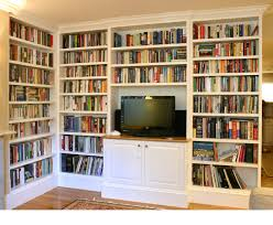 Building Solid Wood Bookshelf by Built In Bookcase Dimensions Vary Painted Solid Wood And Ply