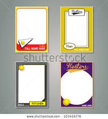 printable baseball card template dorable baseball card templates pattern resume ideas dospilas info