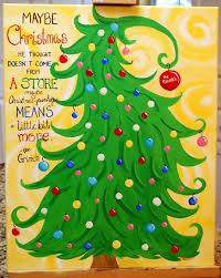 grinch tree custom christmas grinch tree dr suess by thecreatorscanvas