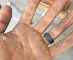 rubber wedding rings qalo outdoor rings are so much more than a rubber ring they are