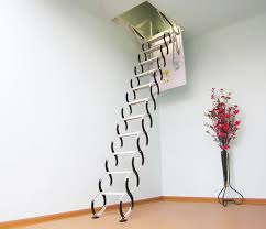 Retractable Stairs Design Best Ideas Retractable Stairs Railing Stairs And Kitchen Design