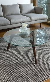 glass coffee table wooden legs 29 chic glass coffee tables that catch an eye digsdigs