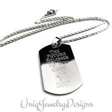 customized dog tag necklace with picture graduation jewelry graduation dog tag engraved dog tag
