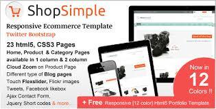 shopsimple responsive ecommerce template by cartdeveloper