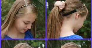 headband ponytail beautiful of ponytail with lilla headband