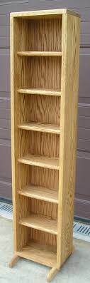 Oak Cd Storage Cabinet Custom Storage