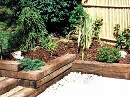 Railway Sleepers Garden Ideas Fascinating Garden Design Ideas Railway Sleepers Sixprit Decorps
