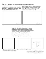 170 best art handouts u0026 worksheets images on pinterest art