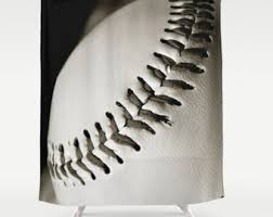 masculine bathroom shower curtains softball bathroom softball shower curtain black off white