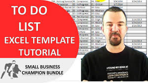 to do list excel template printable weekly templates youtube