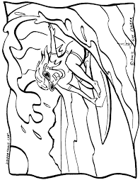 surfing coloring pages coloring