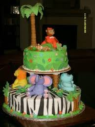 jungle baby shower cake animal cakes photos and tips