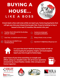 buying a house like a boss the sibley group at keller williams