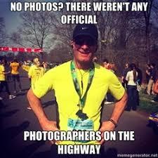 Running Dad Meme - viral marathon dad and suspected marathon cheat mike rossi fails